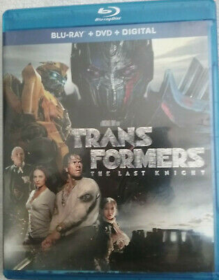 Transformers:The Last Knight Blu-Ray DVD Digitally Mastered In HD NEW SHIPS FREE