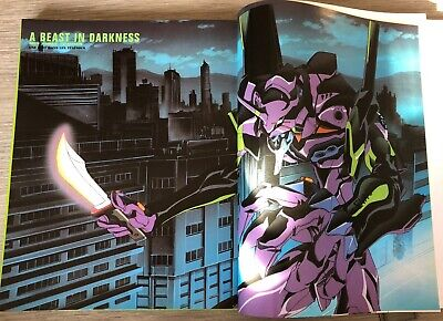 Manga Neon Genesis Evangelion Art-Book 1999 180 pages