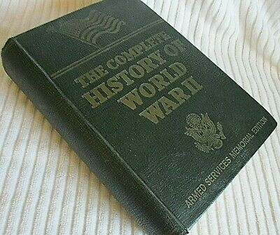 The Complete History of World War II Book Memorial Edition 1948 WW2