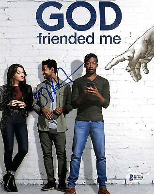 Brandon Michael Hall God Friended Me Authentic Signed 8x10 Photo BAS #H14454