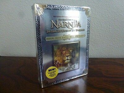 Chronicles of Narnia: Lion, the Witch, and the Wardrobe (4DVD, Extended) SEALED