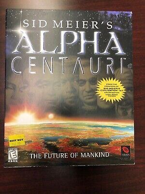 Sid Meier's Alpha Centauri (PC, 1998) - BIG BOX Edition