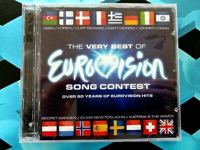 The Very Best of Eurovision Song Contest /ABBA, Olivia Newton-John, et (2CD) NEW