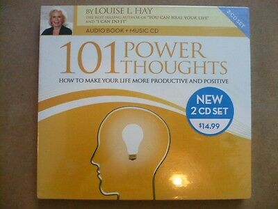 101 Power Thoughts - LOUISE L. HAY (2cd) Nuevo