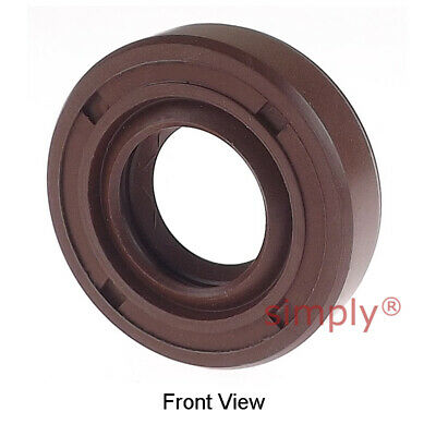 20x35x7mm TC / R23 Double Lip Viton Rubber Metric Shaft Oil Seal with Spring