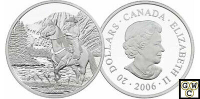 2006 Jasper Proof $20 Silver 1oz .9999 Fine Coin (National Parks) (11960) OOAK