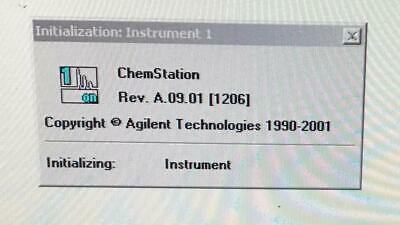 AGILENT GC MSD Vectra ChemStation software License Hp 3365 Series 2