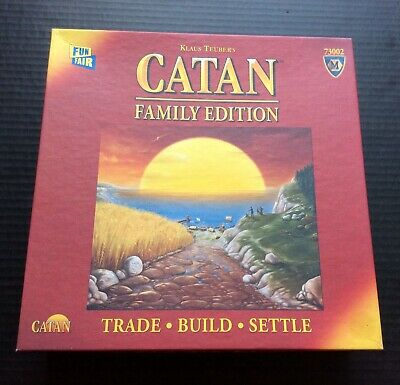 CATAN - Family Edition Board Game Complete Klaus Teubers