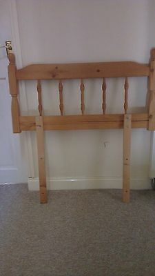 Solid Pine SINGLE BED 3ft Headboards