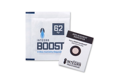Integra Boost 62% 8G - 10 Pack - Humidor 2 Way - For CVault - Free Shipping