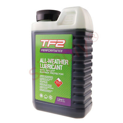 1000ml Weldtite TF2 All Weather Performance Lubricant Teflon Surface Protection