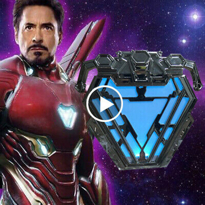 Avengers Endgame Iron Man MK50 mark50 Armor Arc Reactor Light Movie Prop InStock