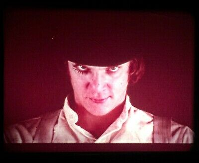 16mm film movie A Clockwork Orange dir. Stanley Kubrick Uncut