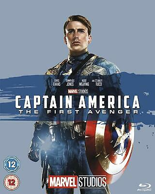 Captain America: The First Avenger  with  Chris Evans New (Blu-ray  2013)