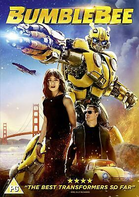 Bumblebee DVD  with  Hailee Steinfeld New (DVD  2019)