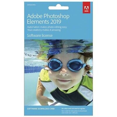 Adobe Photoshop Elements 2019 Windows 2PC Perpetual License