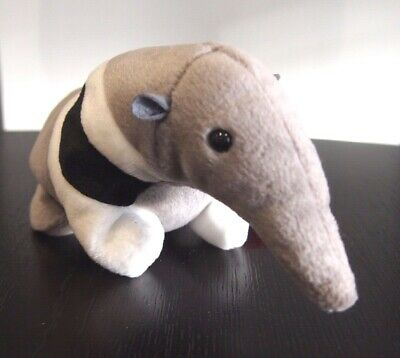 "Ty Beanie Babies ""Ants"" The Stripey Anteater DOB 7/11/1997 - Mint SPECIAL OFFER!"