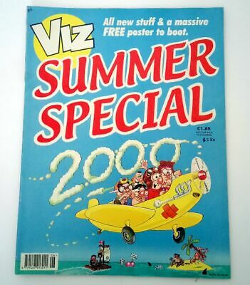 Viz Comic Magazine Summer Special 2000 Collectable Adult Humour Almost New *