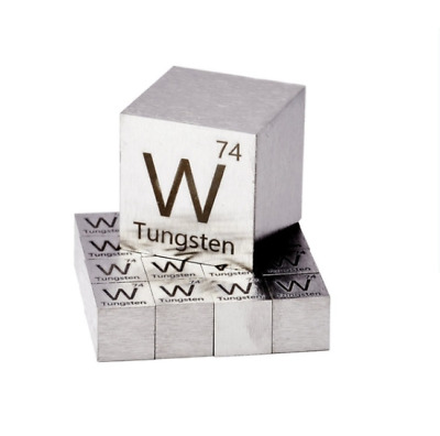 Tungsten Metal 10mm Density Cube 99.95% Element Collection10mm Density Cube