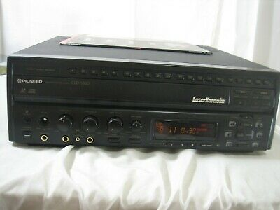 Pioneer CLD-V820 Karaoke LD/CD Multi Laser Disc Player Working Condition 1996