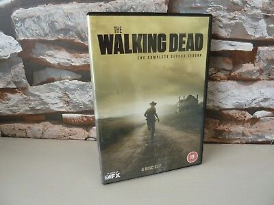 The Walking Dead - The Complete Second 2Nd Season Dvd.  - Fast/Free Posting.