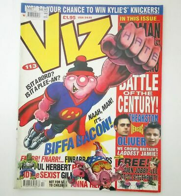 Viz Comic Magazine Number 113 March 2002 Collectable Adult Humour Humor UK *