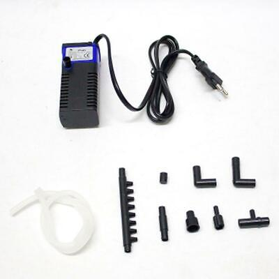 Aquarium Fish Tank Filtration Internal Filter Submersible Pump Spray 400L/H DI