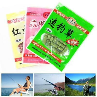 Carp fishing bait smell Grass Carp Baits Insect Elastic Rods Lures NEW Part A0K5