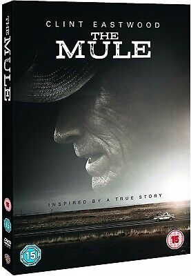 THE MULE (2019): Crime, Drama, Thriller, Clint Eastwood - NEW Eu Rg2 DVD not US