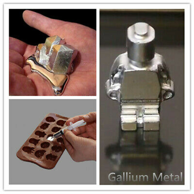 Fast Shipping --50-100Gallium Metal 99.99% Pure Ship From USA IN 5DAYS
