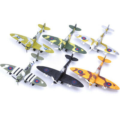 1/48 Beautiful Painted Assemble Fighter Model War-II British Spitfire Fighter