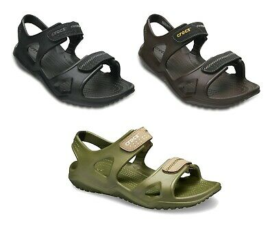 Crocs Mens Swiftwater River Lightweight Adjustable Summer Sports Sandals