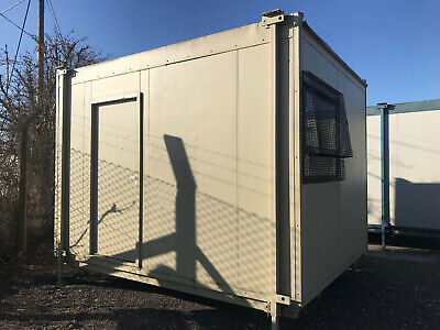 Cheap Good 12ft Jackleg Office Canteen Site Cabin Portable Cabin building