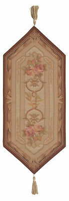 """Chaumont Small French Tapestry Table Runner 33x14"""""""
