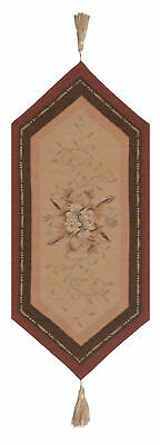 """Orleans Floral Small French Tapestry Table Runner 33x14"""""""