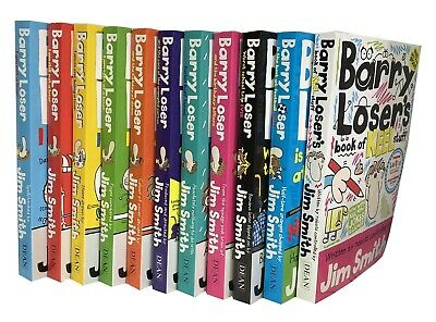 Barry Loser Collection Jim Smith 11 Books Set - I am not a Loser, I am still not