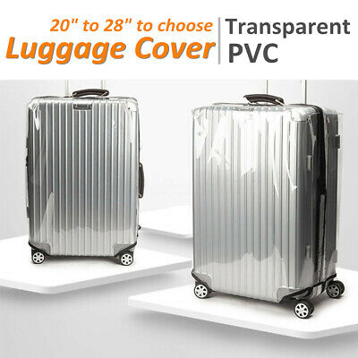 "Travel Luggage Cover Protector Suitcase Dust Proof Bag Anti Scratch Bag 20""-28"""