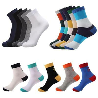 5 Pairs Men's Lot Socks/Winter Thermal Soft Cotton Casual Sport Sock Home