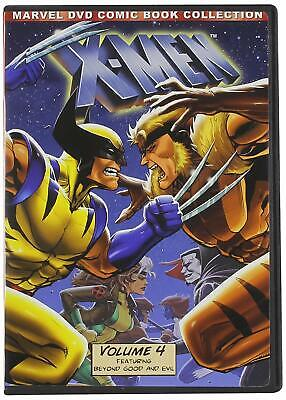 Marvel's X-Men Vol 4 90's TV Series Animated Comic Book Collection [DVD Box Set]