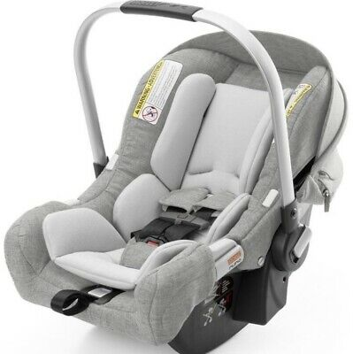 Stokke PIPA by Nuna Child Safety Infant Car Seat & Base Gray Melange NEW