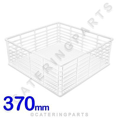 PLASTIC COATED WIRE OPEN GLASS RACK 370mm 37cm FOR GLASSWASHER KROMO AQUA 37