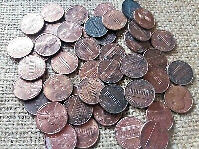 Big Lot Of Unsearched Us/American Lincoln Cents Coins - Attic Found