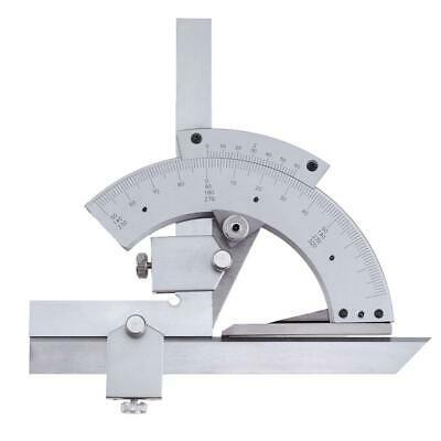 0-320° Universal Protractor Goniometer Angle Ruler Finder Measuring Tools #Cu3