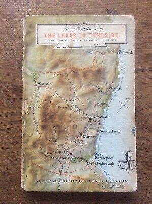 Vintage Book with Real Photographs About Britain No 10 The Lakes to Tyneside
