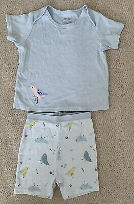 Toddler Girls Mama & Papas Pyjama Shorts - Age 1.5-2 Years