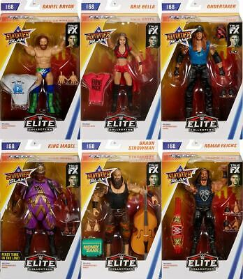 WWE Elite 68 - Complete Set of 6 Mattel Toy Wrestling Action Figures