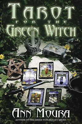 New, Tarot For The Green Witch, Ann Moura, Book