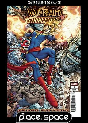 War Of The Realms Strikeforce: The War Avengers #1B - Bradshaw Variant (Wk20)