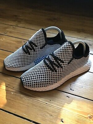 on sale e122b 2dff0 Men s Adidas Originals Deerupt Runner Trainers. Black White. Size 7 UK