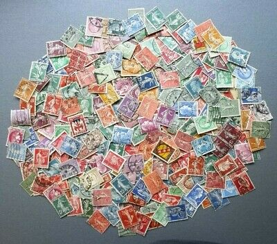 Lot collection Timbres France anciens